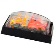 LED SM RED/AMBER BLK/BASE 10PAC