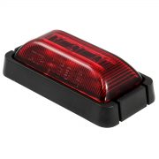 LED REAR OUTLINE MARKER RED BLK/BASE 10P