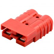 H/D 2 PIN CONNECTOR 50A RED (ANDERSON)