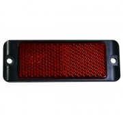 REFLECTOR RED 85 X 31 SCREW BASE TWIN PK